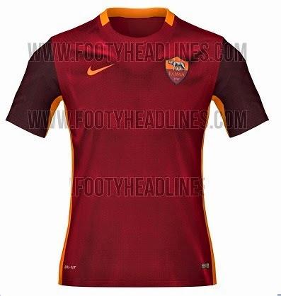 ao bong da - áo bóng đá AS Roma 2015 - 2016