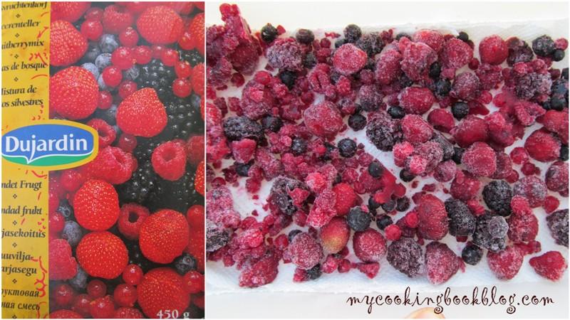 смес от горски плодове (малини, къпини, френско грозде, ягоди и боровинки)