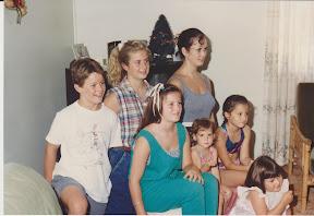 My cousins, all of Maureen's grandchildren