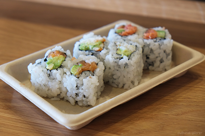 Maki Sushi Hudson eats