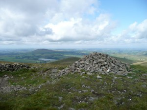 Little Sca Fell Summit with Binsey in the distance