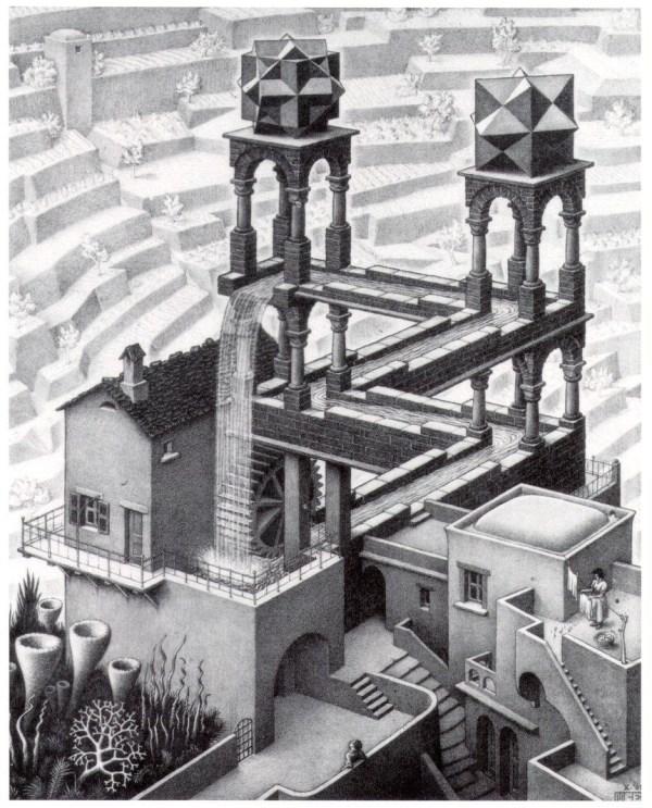 M.C. Escher Waterfall