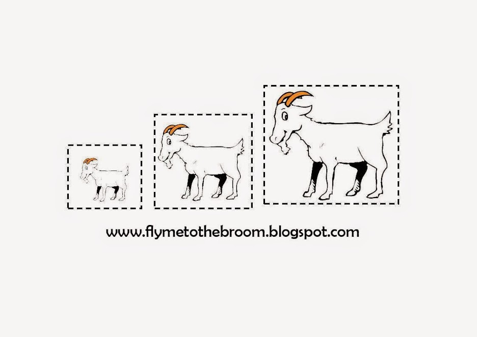 Fly me to the broom: The 3 Billy-Goats gruff: Resources
