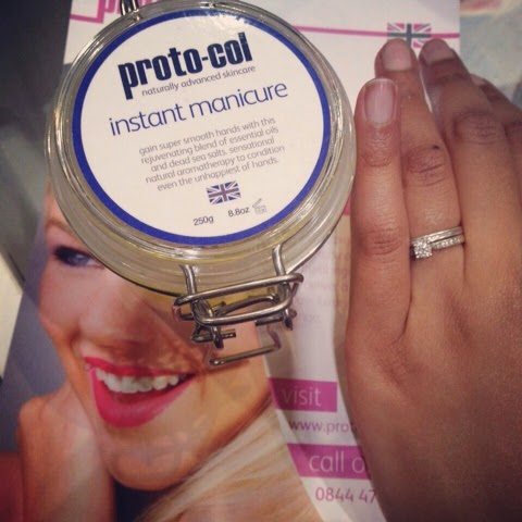 results of Proto-col Instant Manicure
