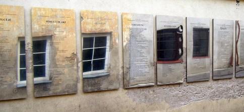 Qué ver en Vilna. Constitución de Užupis