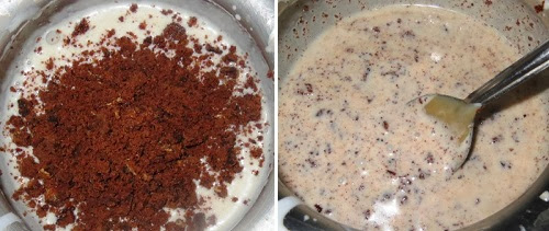 Caramel Cookies and Cream Milkshake Recipe