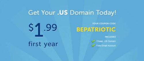 Promo Domain Murah .US cuma $1.99 dari NameCheap