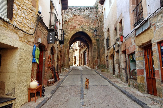 Turismo rural en Sigüenza. Arco de Arrebatacapas