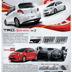New Agya Trd Manual Grand Veloz 2019 Brosur Toyota All Yaris Baru Tahun 2015
