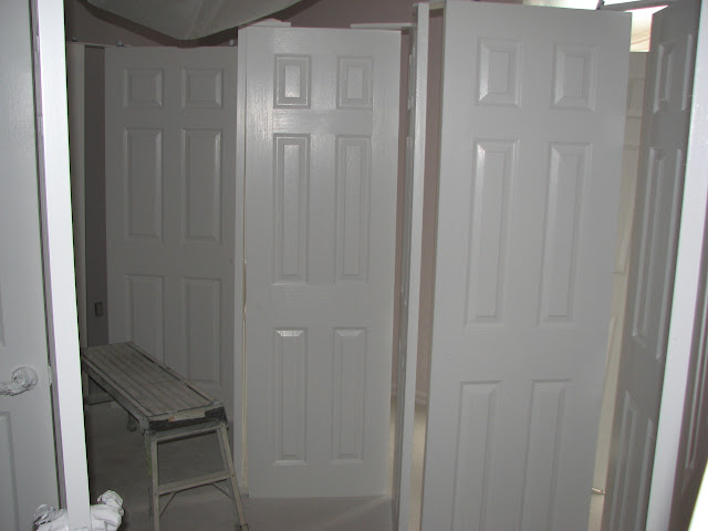 Should interior doors be painted flat or semi gloss - Flat or satin paint for bathroom ...
