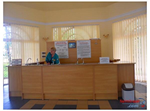 Free mineral water in Svetlogorsk