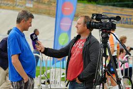 Kris Hanne bij Jeroen Sap van WTV