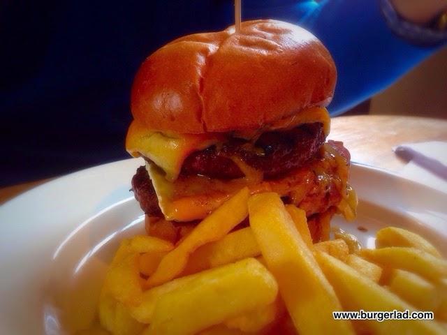Rascals Bar Sloppy Rascal Burger