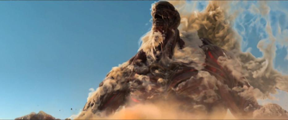 #進擊的巨人「真人版」影片登場!?:SUBARU 汽車廣告中出現巨人身影!! 1