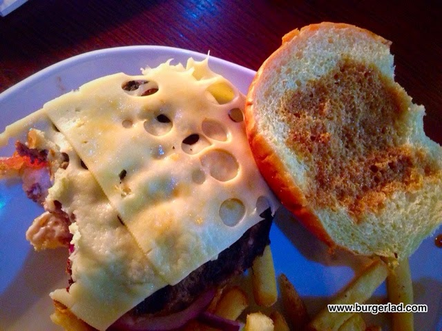 T.G.I. Friday's French Dip Burger
