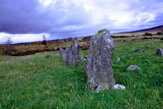 Beaghmore Stone Circle, Tyrone, Ireland