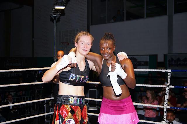Delfine Persoon en Judy Waguthii