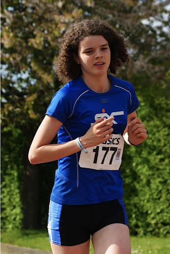 Elise Plancke, 5 km Jogging, Krottegemse Corrida 2013, Roeselare Loopt