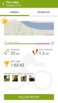 *推薦的運動健身紀錄好助理 :Endomondo Sports Tracker (Android App) 5