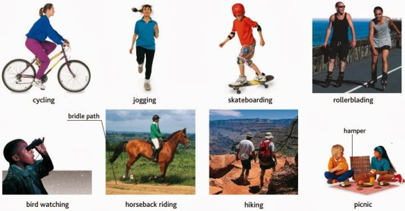 activities- cycling, jogging, skateboarding, rollerblading, bird watching, bridle path, horseback riding, hiking, picnic