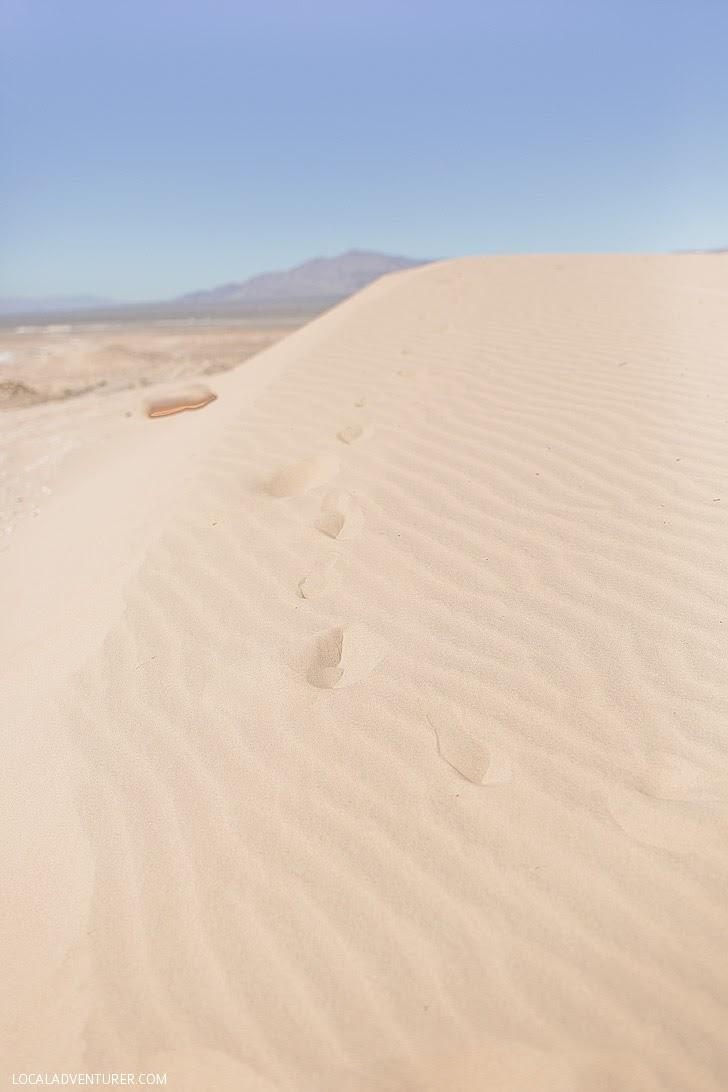 Sand Dunes Las Vegas.