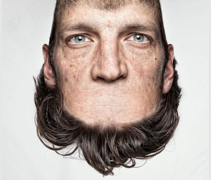 *THORSTEN SCHMIDTKORD有趣攝影系列 Head on Top :「親愛的 我的頭!?」 7