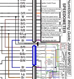 modified schematic with the installation of the dakota digital mcv 7200 [ 808 x 1024 Pixel ]