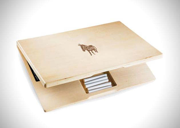 *IWOOD CHALKBOARD LAPTOP 黑板筆記型電腦:KIDS限定! 4