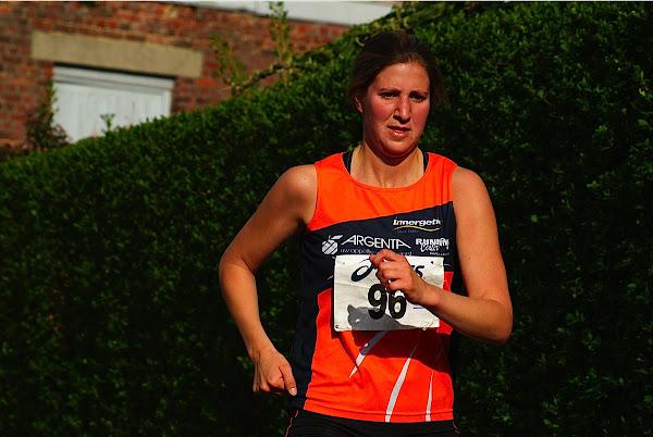 Liesbeth Vandevelde, 10 km prestatieloop, Krottegemse Corrida 2013, Roeselare Loopt