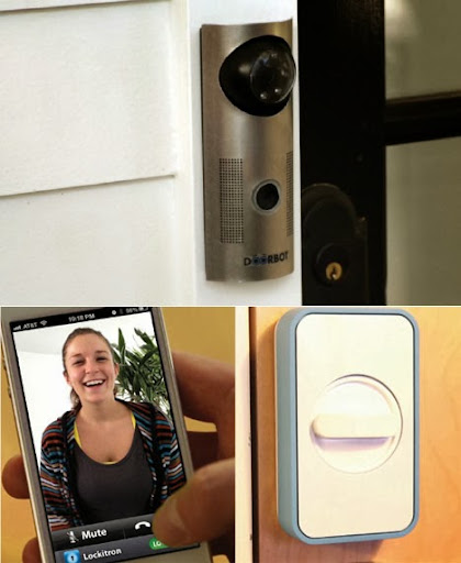 Doorbot kameralı kapı zili