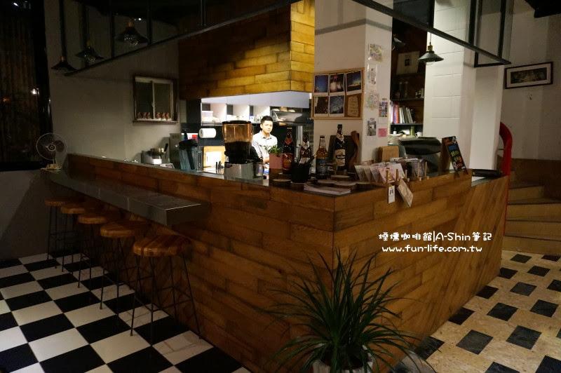 美式煙燻咖啡館