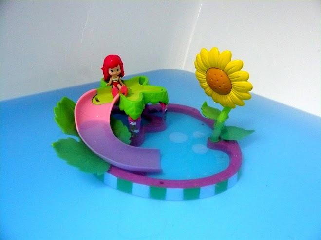 Les couleurs pour le bain