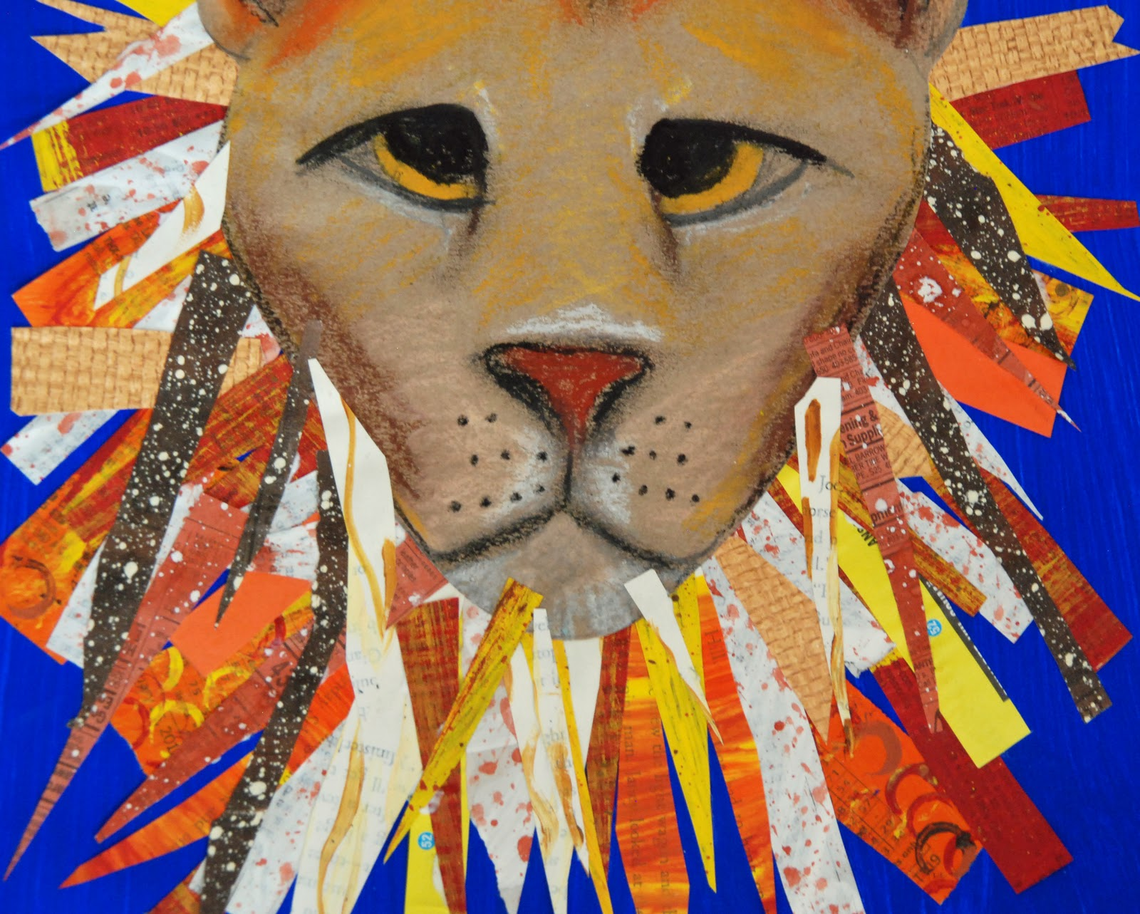 That Artist Woman March Lion Or Lamb Art Project