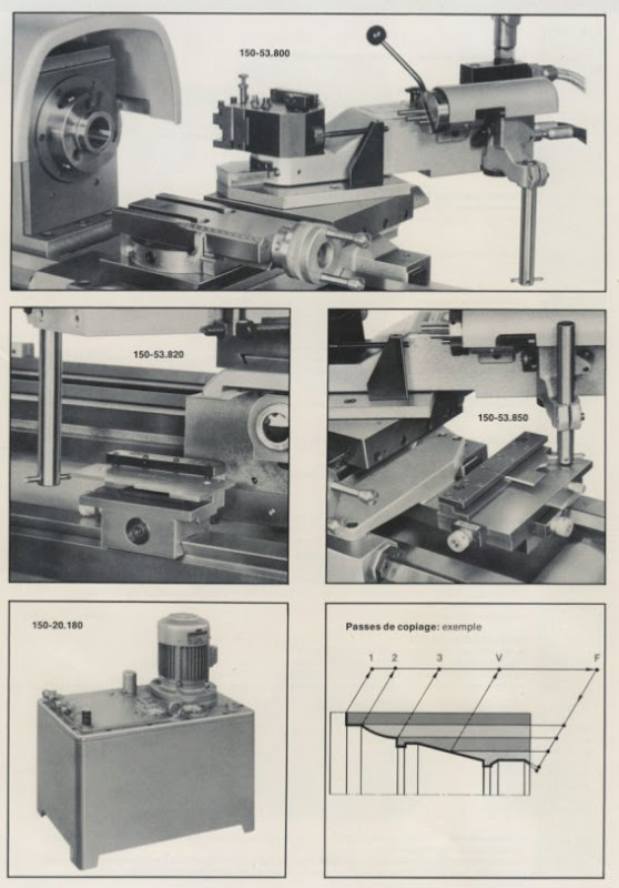 Lathe Tracer Attachment For Sale