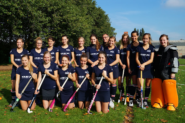 Ploegfoto Hockey Club Roeselare damesploeg