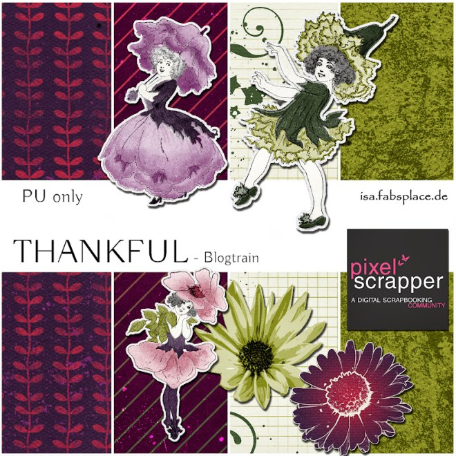Blog Train Thankful Pixelscrapper
