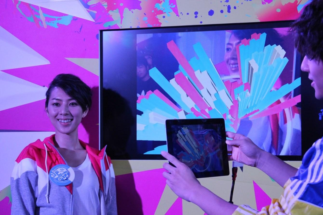 *adidas Unite all Originals:林辰唏、胡宇威與你一起互動 AR CODE(擴增實境)技術! 2