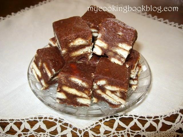 Дукиса или шоколадово бисквитена торта