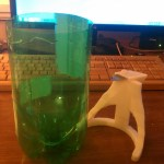 RepRapped Soda Bottle Cutter