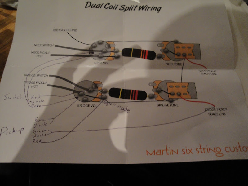Epiphone Les Paul Wiring Diagram On Dual Humbucker Coil Tap Wiring