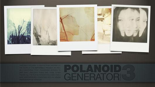 Polanoid efeito tipo polaroid