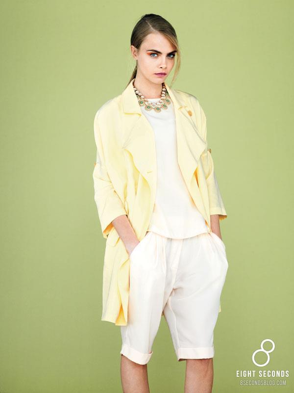 *韓風吹不停:名模Cara Delevingne代言三星旗下品牌 8ight Seconds 2013 SS 7
