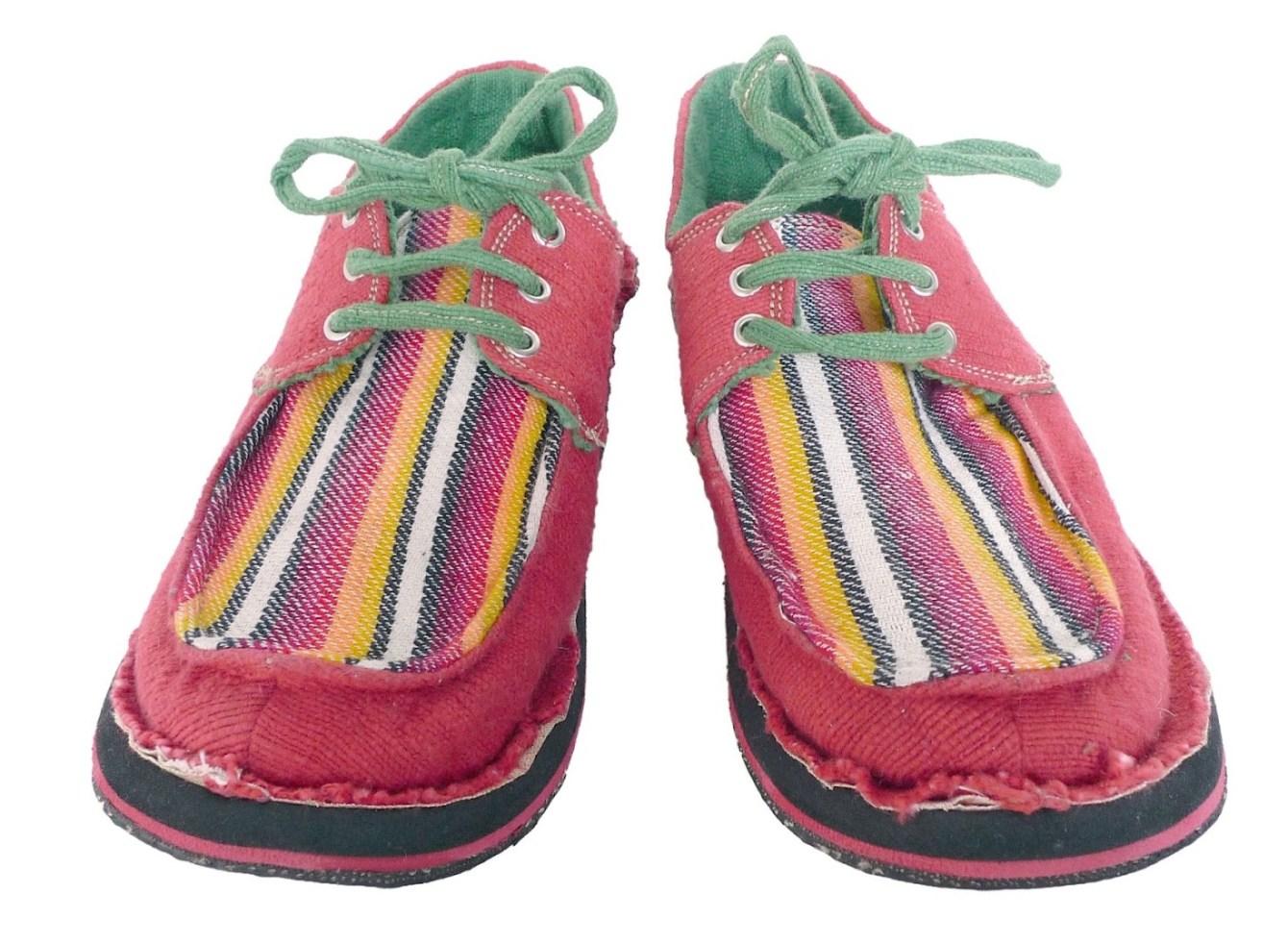 # soleRebels 非洲色彩圖騰帆船鞋:阿比西尼亞麻編織系列! 1