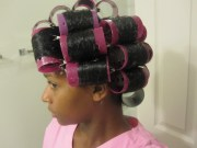 mahoganycurls' roller set
