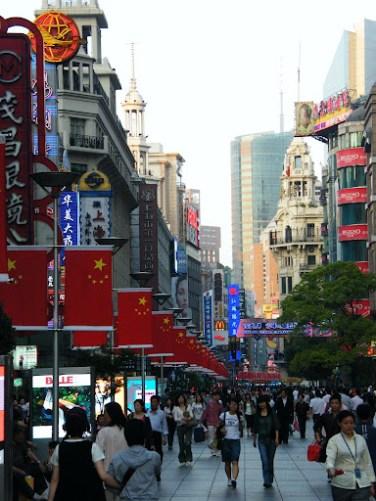 Calle Nanjing, Shanghai