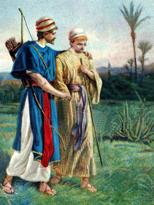 Bible Stories Jonathan Bible Vector