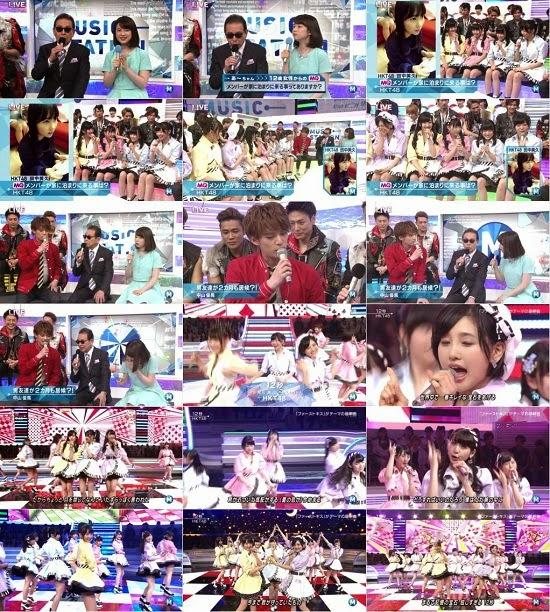 (TV-Music)(1080i) HKT48 Part – Music Station  150424