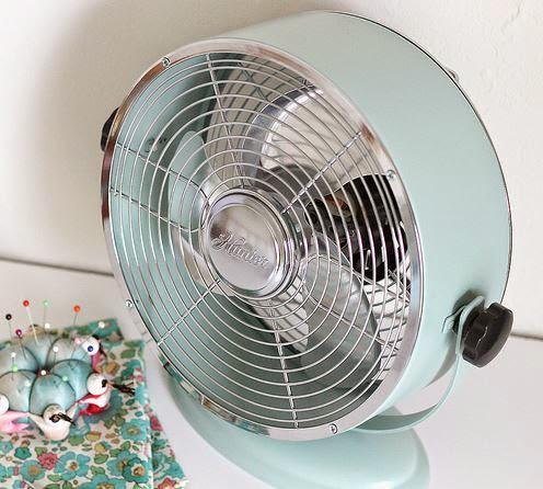 Decorar un ventilador.