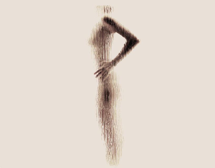 *女性裸體字母剪影:希臘藝術家Anastasia Mastrakouli 解剖人體視覺奧秘! 17