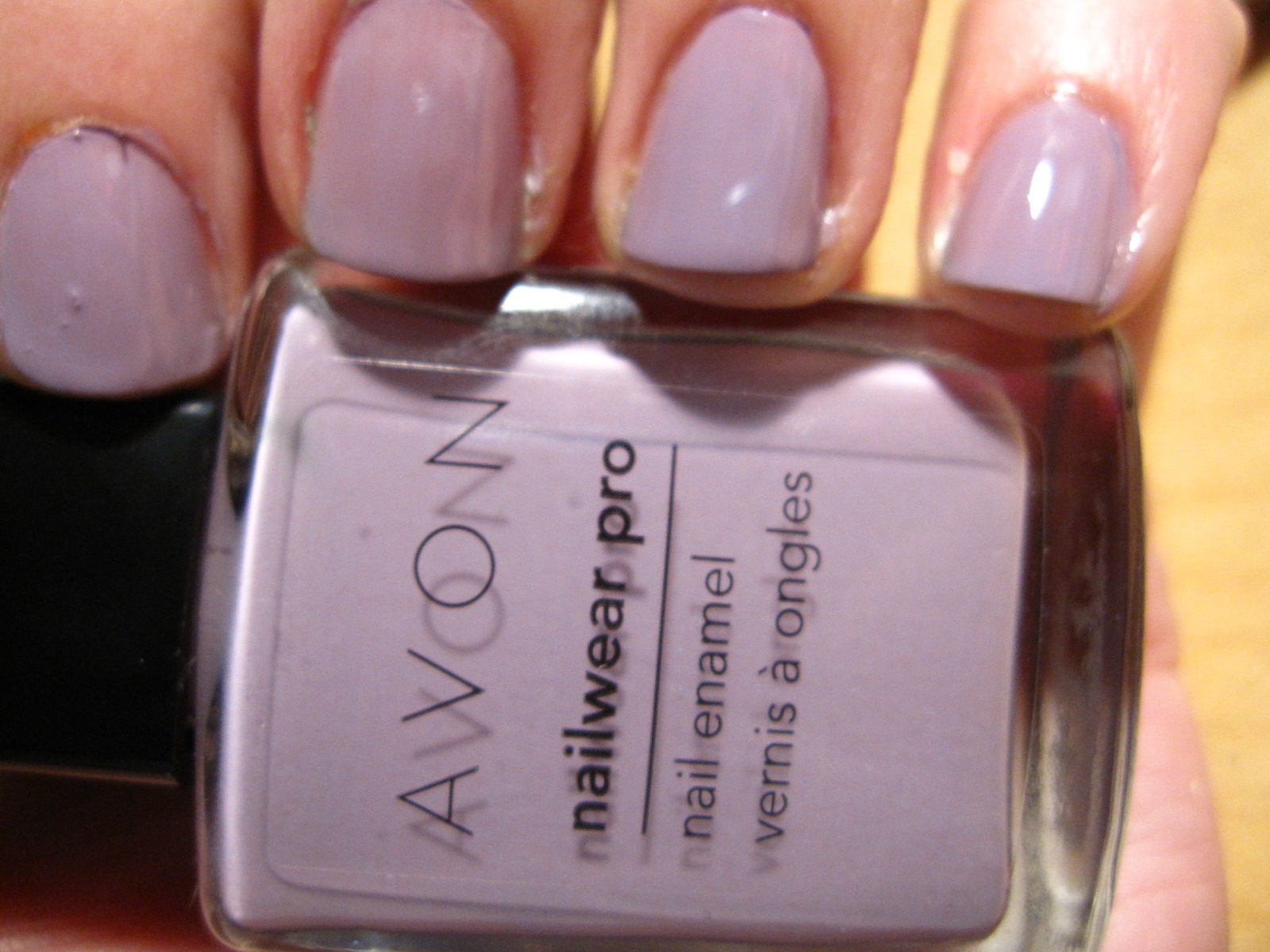 I Began With A Base Color From Avon Also In My Haul Recently This Is Luxe Lavender Very Beautiful Pale Lilac Love Am